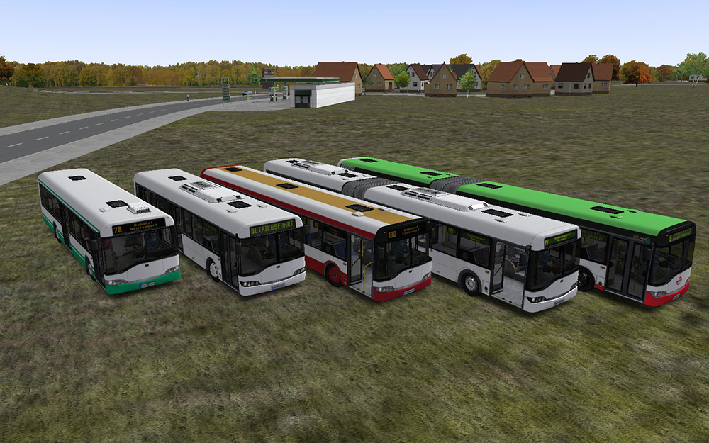 OMSI 2 Add-on Urbino Stadtbusfamilie